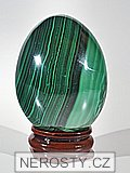 malachite, egg